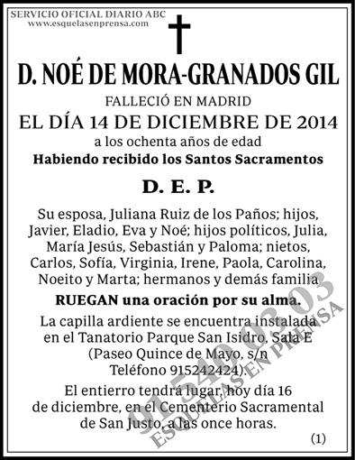 Noé de Mora-Granados Gil